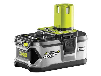 Ryobi RB 18L40 One+ Battery 18 Volt 4.0Ah Li-Ion