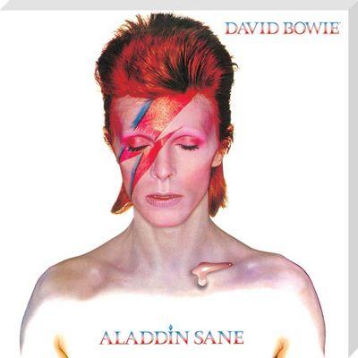 David Bowie Alladin Sane Classic Album Cover Canvas Print
