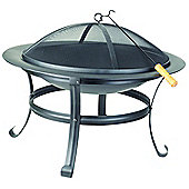 Redwood Leisure BB-CH720 Large Fire Pit - Black