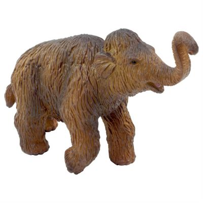 Woolly Mammoth Calf Figurine Toy by Animal Planet