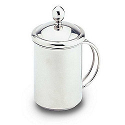 Grunwerg Café Stal Stainless Steel Cappuccino Milk Frother Creamer CPC-05MS