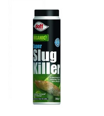 Doff Super Slug Killer Organic Slug and Snail Killer - 350g Advanced Ferramol Bait