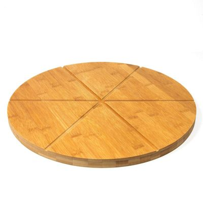 Woodluv Bamboo Pizza Serving Board-13