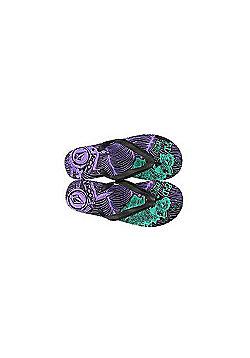 Volcom New Stone Black/Purple Creedler Sandals - Black