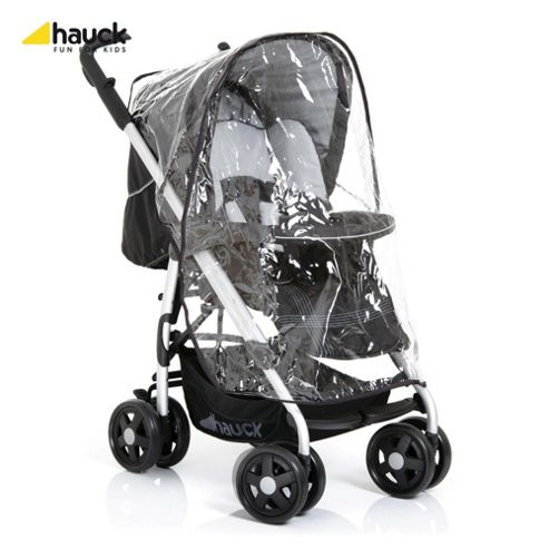 Hauck Condor All-In-One Pushchair, Caviar/Silver