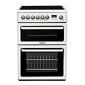 Hotpoint Newstyle Electric Cooker with Electric Grill and Ceramic Hob, HAE60P S - White
