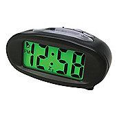 Acctim 14193 Eclipse Smartlite Hybrid Digital Alarm Clock - Black