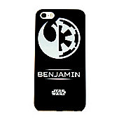 Star Wars Rogue One Rebel/Empire Personalised Black iPhone 5/5s Cover