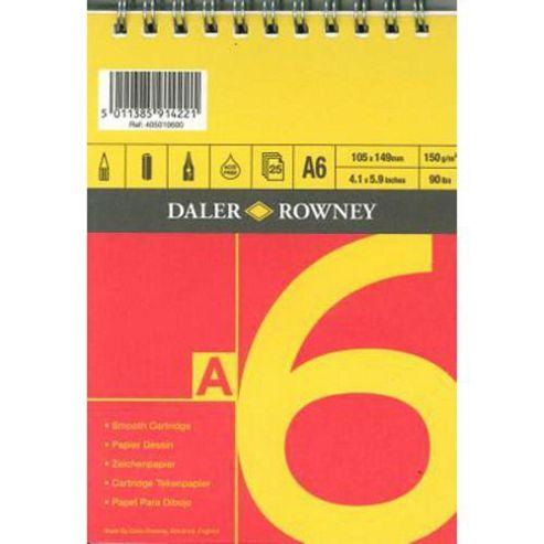 A Series Spiral Sketch Book A6