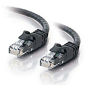 Cables To Go 1 m Cat6 Snagless Crossover UTP Patch Cable - Black