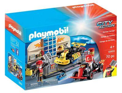 Playmobil 6869 City Action Go-Kart Garage