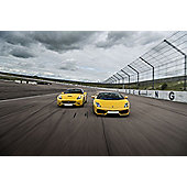 Double Supercar Driving Blast with High Speed Passenger Ride - Special Offer