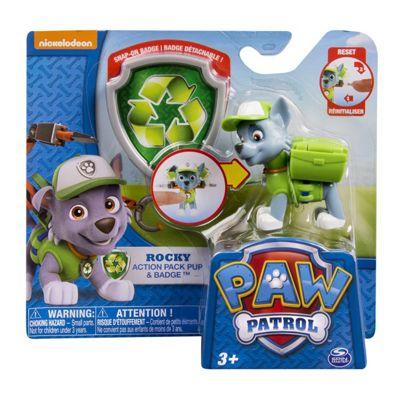Paw Patrol Nickelodeon Action Pack Pup & Badge 3