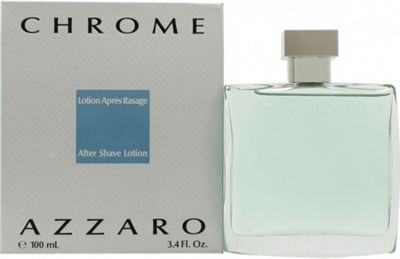 Azzaro Chrome Aftershave Lotion 100ml For Men