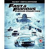 Fast & Furious 1-8 Boxset (8 Films) Bd 8Disc