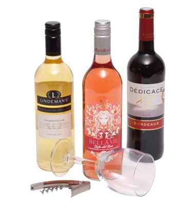 Three Bottle Mixed Wines