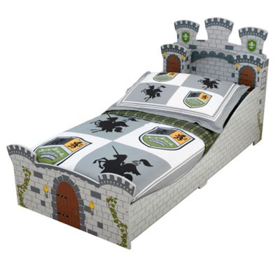 KidKraft Medieval Toddler Bed