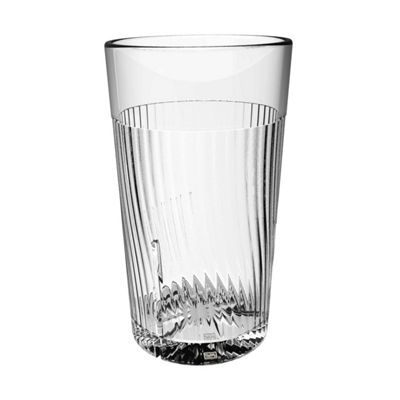 Clarity 16 oz Belize Tumbler - Clear (8 Pack)