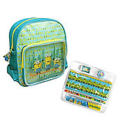 Character Minions 'Le Buddies' With Stationery Backpack