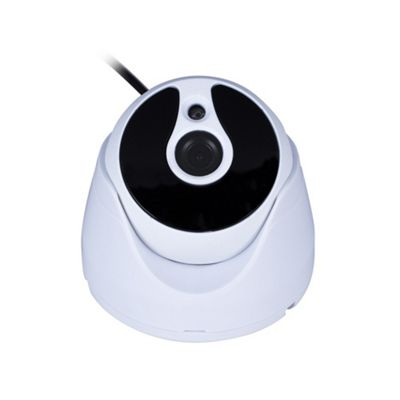 ElectrIQ AHD 720P dome camera 0140+Metal housing waterproof white color