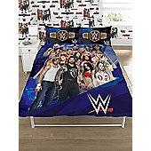 WWE Face V Heel Double Duvet Cover Set