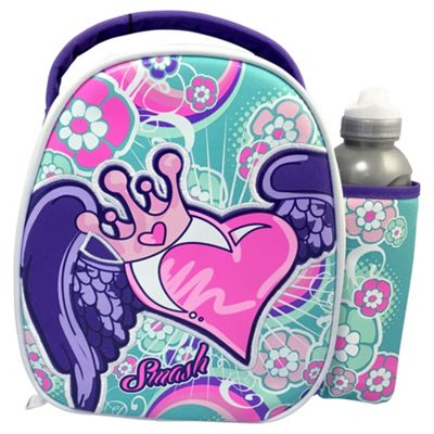 buy smash angel heart lunch bag water bottle from our. Black Bedroom Furniture Sets. Home Design Ideas