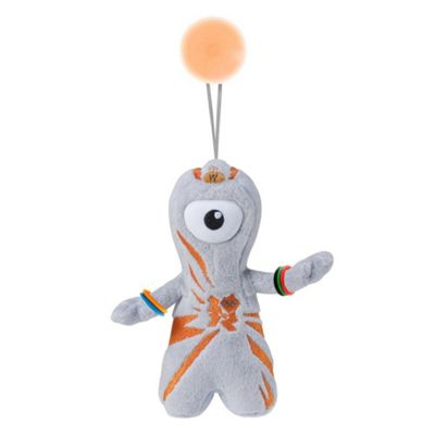 Olympic Mascots Wenlock Stick On Plush