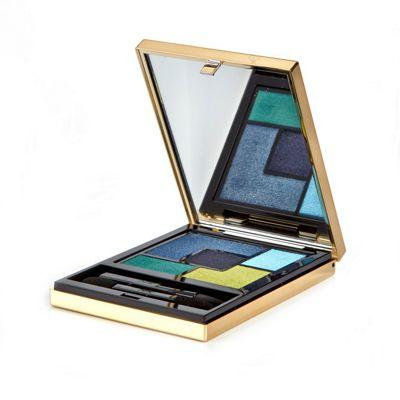 Yves Saint Laurent Couture Eyeshadow Palette Blue 10 Lumieres Majorelle
