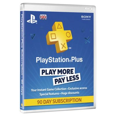 PlayStation Plus Card 90 Day Subscription
