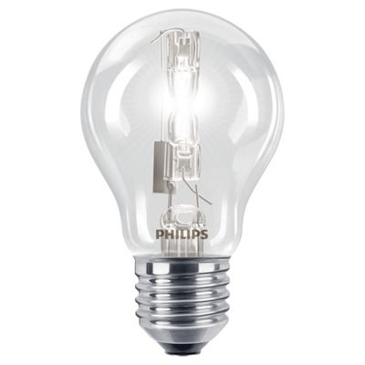 Philips EcoClassic Dimmable Halogen Traditional Light Bulb (105W E27 A55)