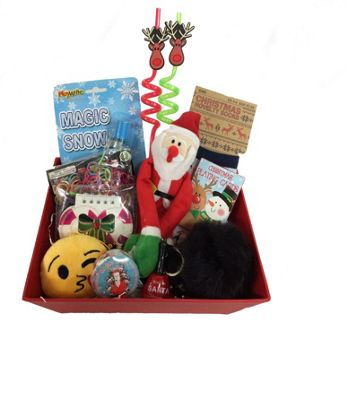 Childrens Deluxe Christmas Gift Box - 11 Items Included