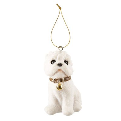 West Highland Terrier Christmas Tree Decoration