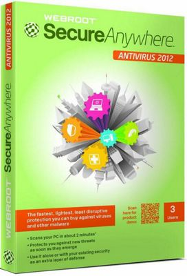 Webroot SecureAnywhere AntiVirus 3 Users