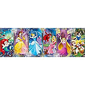 Disney Princesses - 1000pc Panoramic Puzzle