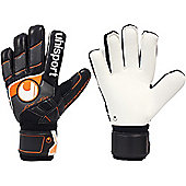 Uhlsport Pro Comfort Textile - Ltd. Edition Goalkeeper Gloves Size - Black