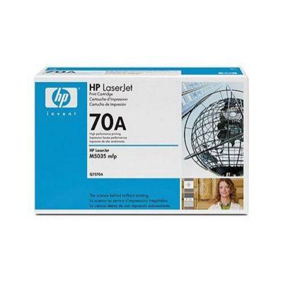 HP No.70A Toner Cartridge, Black, Laser, 15000 Page