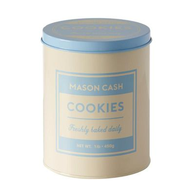 Mason Cash Bakers Authority Cookie Tin Storage and Biscuit Jar