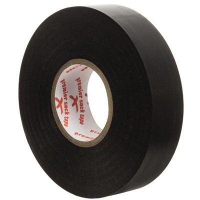 Premier Sock Tape 19mm Pro Extra Stretch Football Rugby Sock Tape, Black