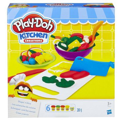 Play-Doh B9012EU40 Kitchen Creations Shape 'N Slice Play Set