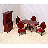 Melissa And Doug Dolls House Dining Room Set