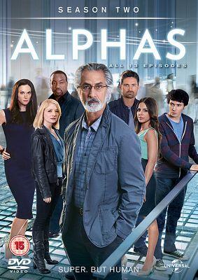 Alphas Season 2 - (DVD Boxset)
