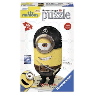 Minions Pirate 54pc 3D Jigsaw Puzzle