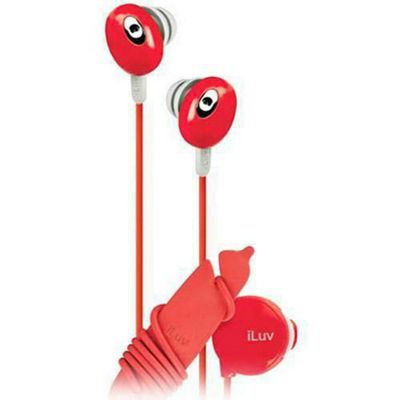iLuv Bean In Ear Stereo Earphones with inline Volume