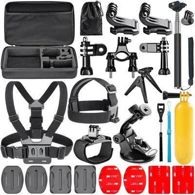 Navitech 18 in 1 Action Camera Accessories Combo Kit with EVA Case
