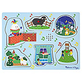 Melissa & Doug Nursery Rhymes 2 - Sound Puzzle