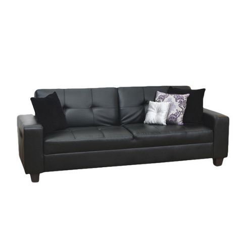 Furniture Link Gemona Sofa Bed in Black