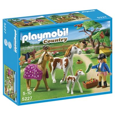 Playmobil 5227 Country Paddock with Horses and Pony