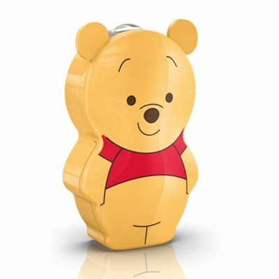 Philips Winnie the Pooh Lighting Flash LED Torch Light, Portable & Battery Operated (Yellow)