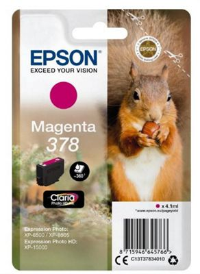 Epson 378 4.1ml 360pages Magenta ink cartridge 360 pages