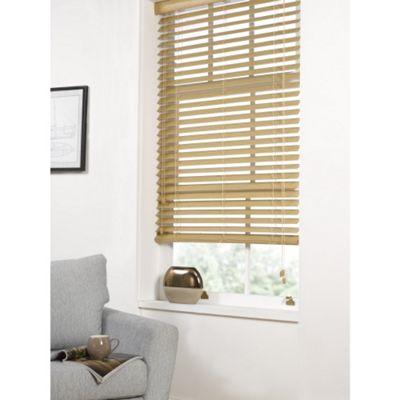 Hamilton McBride Faux Wood Venetian Blind 60 x 160cm Oak